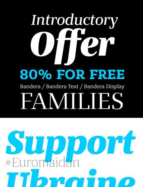 free-fonts-2014-bandera
