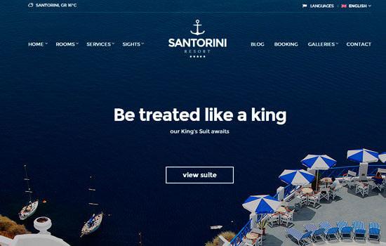 santorini-wpthem