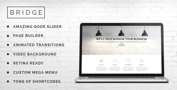 Bridge Creative Multi-Purpose WordPress Theme - ThemeForest