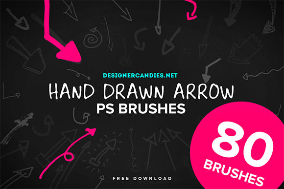 hand-drawn-arrow-brushes