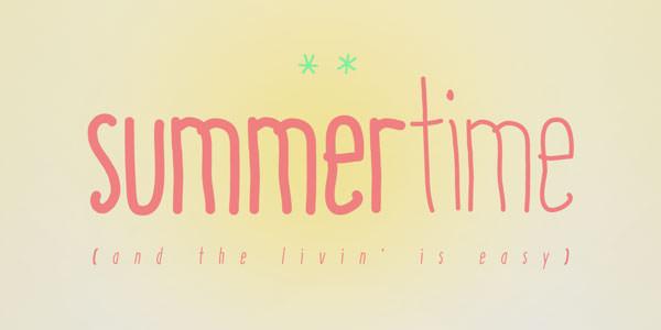 summertime_font