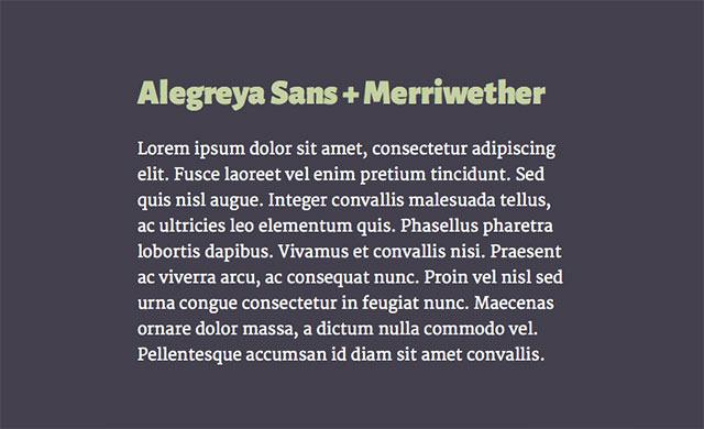 Alegreya-Sans-+-Merriwether