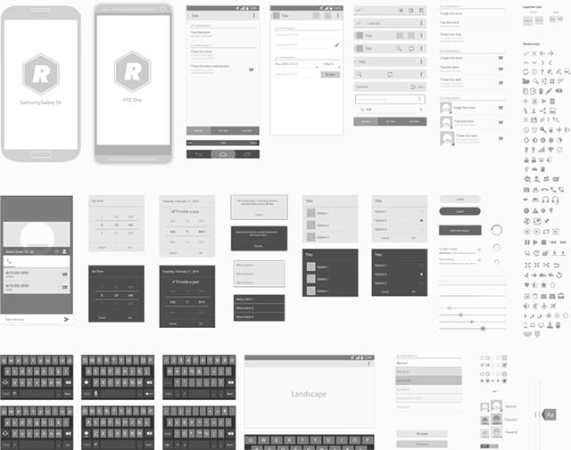 Android_Wireframing_Template