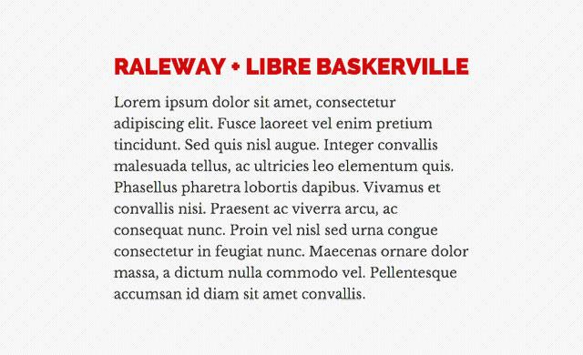 RALEWAY-+-LIBRE-BASKERVILLE