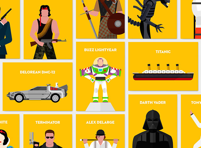 iconic-film-characters-psd