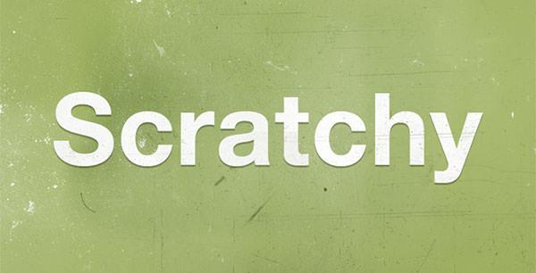 scratchy-brush
