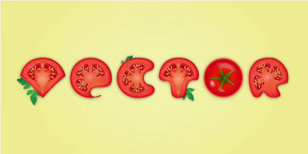 tomatotexteffect
