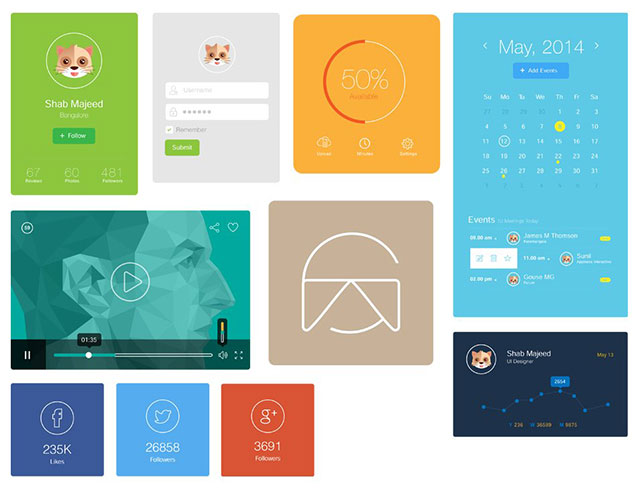 Flat-UI-Design-Elements