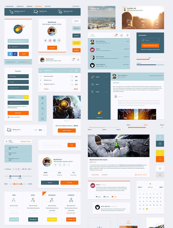 Designer-naut-UI-Kit