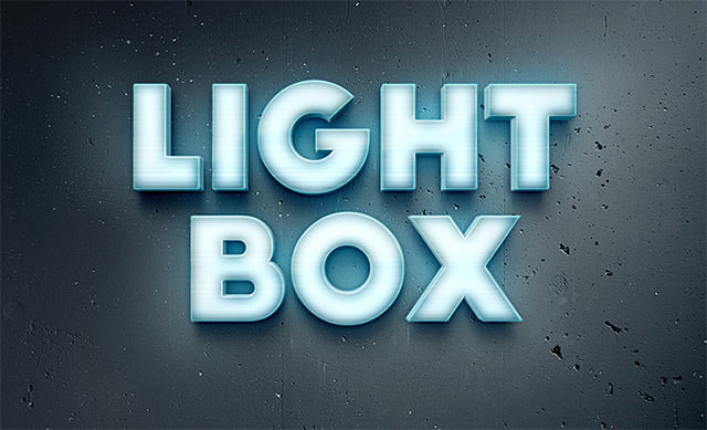 lightbox-text-effect