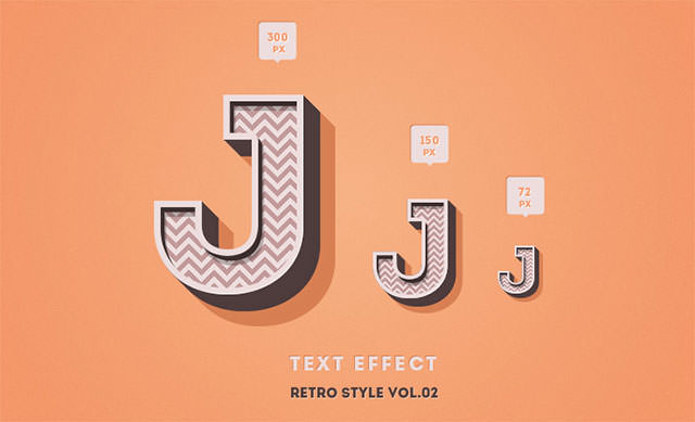 retro-style-text-effect