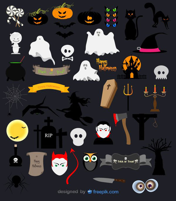 Halloween-icon-pack