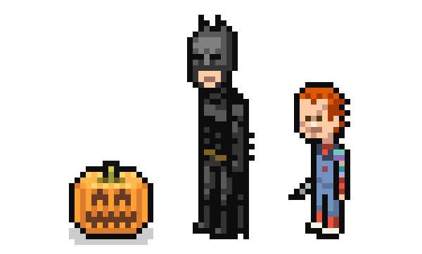 pixel-halloween