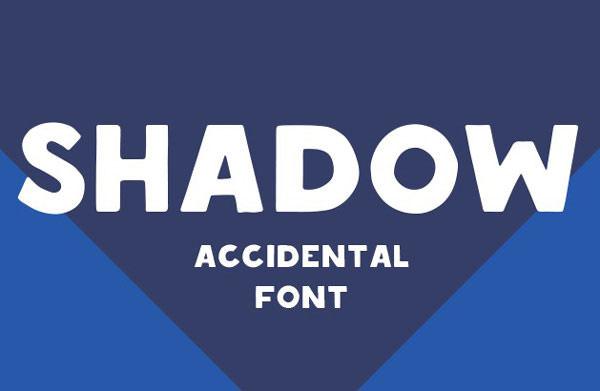 shadow-font