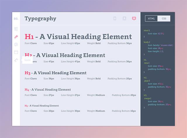typography-styleguide