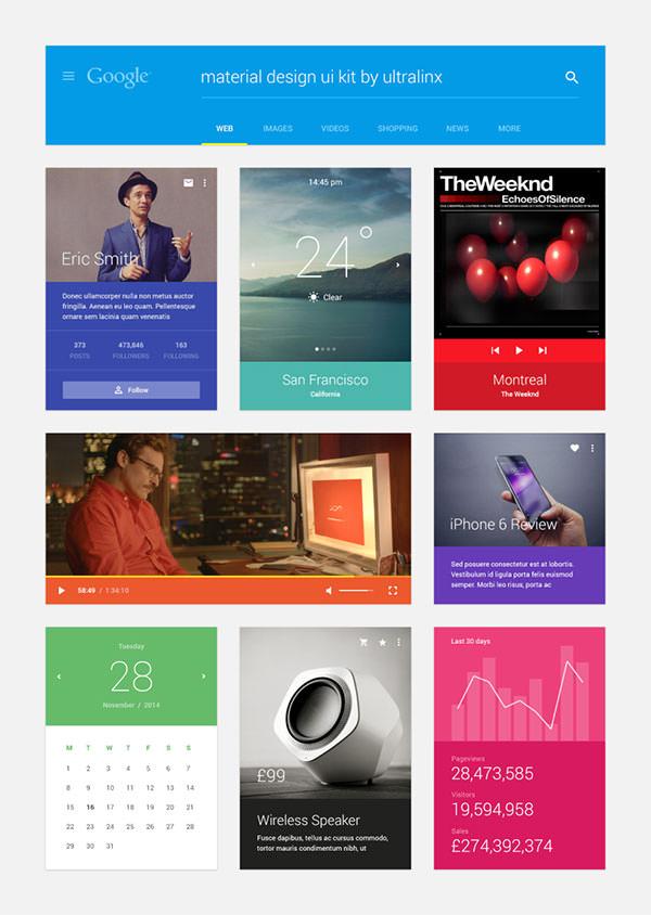 Material-Design-UI-Kit