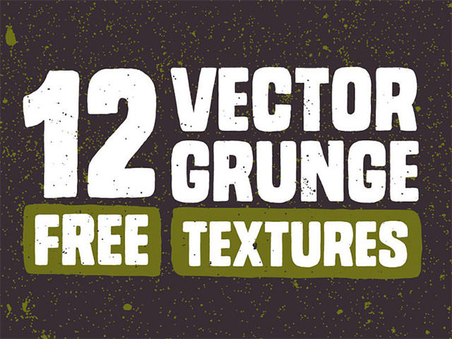 12-Free-Vector-Grunge-Textures