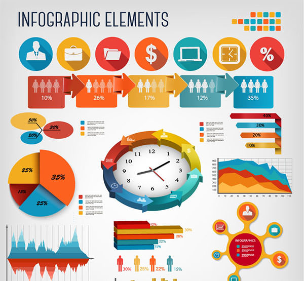 Infographics-Business-Elements
