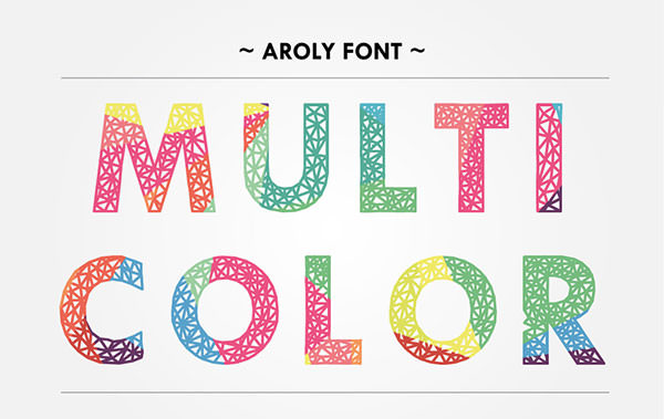 aroly-font