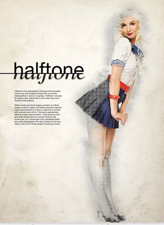 halftone-girl
