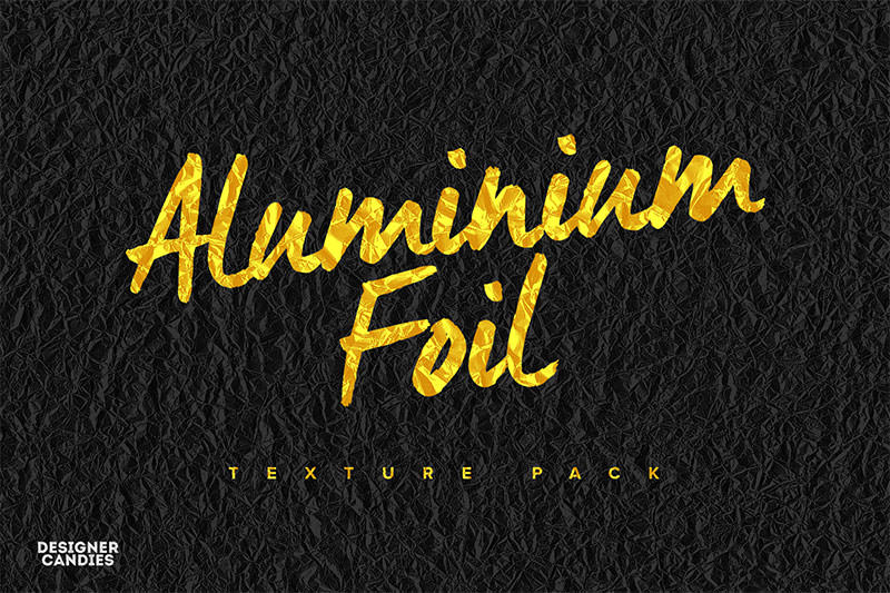 Aluminum-Foil-Texture-Pack
