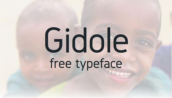 Gidole-Free-Typeface
