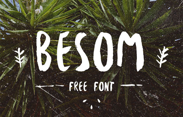besom-font