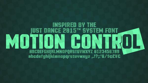 motion-control-font