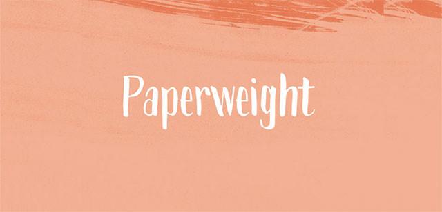 paperweight-script