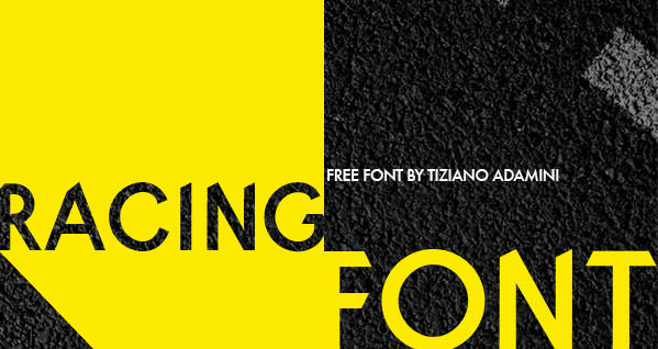 racing-font