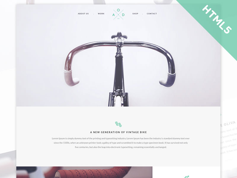 yebo-bicycle-free-template