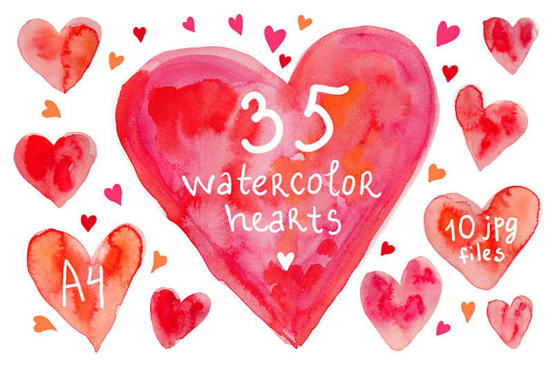 35watercolor-heart