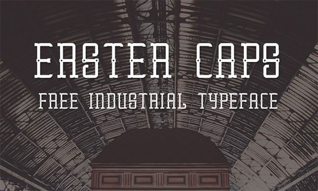 Erster-Caps-free-font