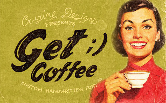 Get-Coffee-Free-Font
