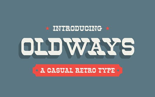 Oldways-Free-Font