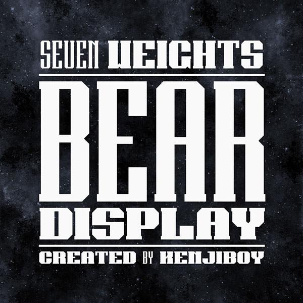 bear-diplay-font