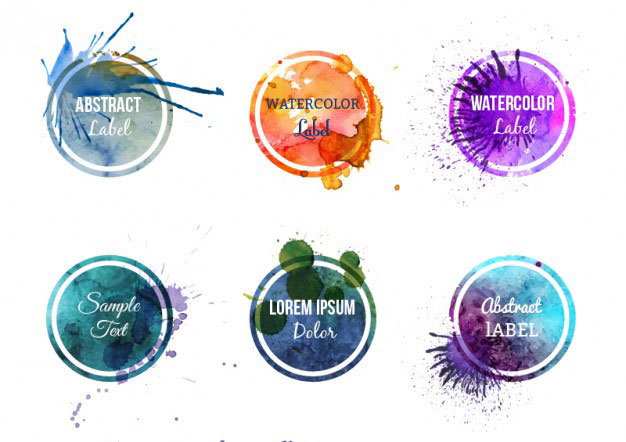colorful-watercolor-labels