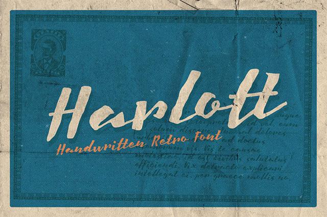 harlott-free-font
