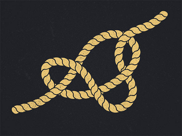 knot-typeface