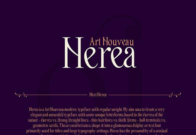 nerea-free-font