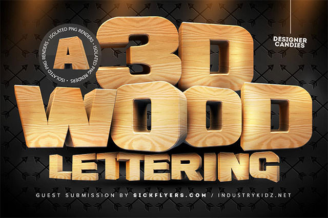 3d-wood-lettering