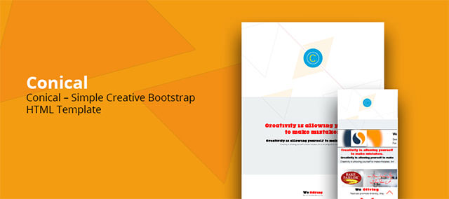 Conical-Creative-Bootstrap-HTML
