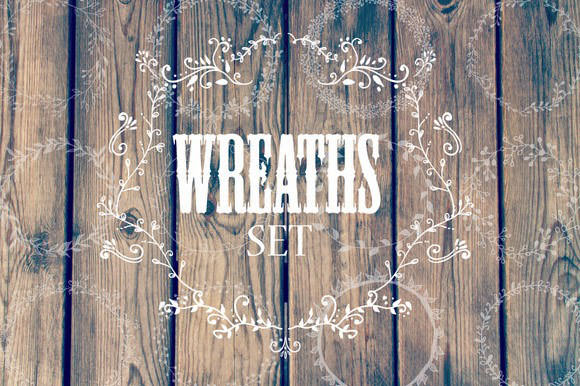 Hand-drawn-wreaths-and-frames