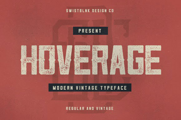 Hoverage-Typeface