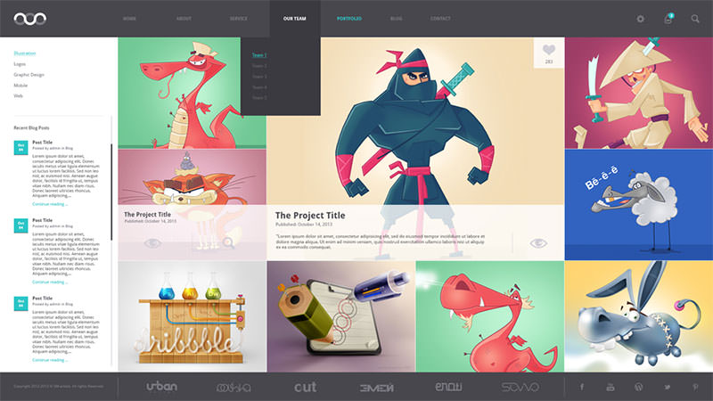 New-folio_psd-template