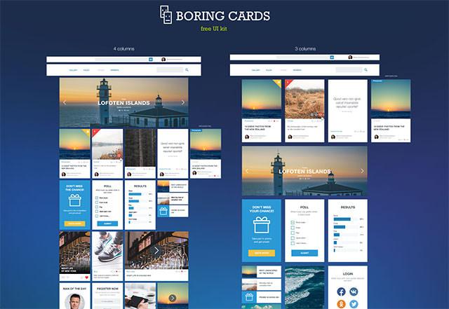 boring-cards-uikit