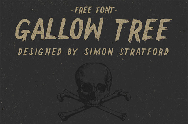 gallow-tree-free-font
