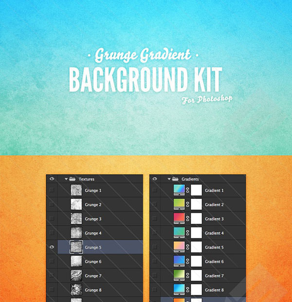 grunge-gradient-background-kit