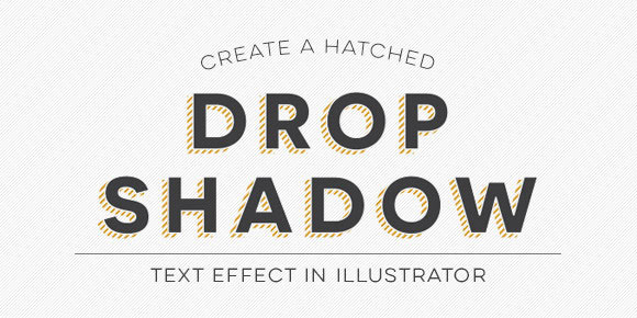 hatched-drop-shadow-text-effect
