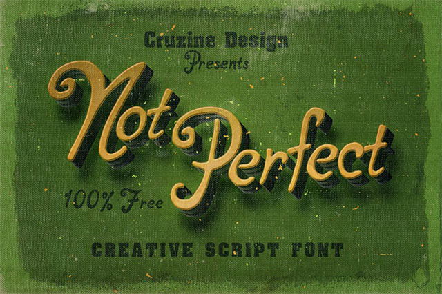 not-perfect-font